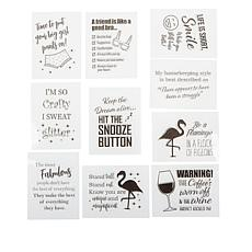 Crafter's Companion Everyday Quirky Sentiment Clear Stamps