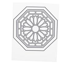 Crafter's Companion Gemini Daisy Stained Glass Window Die