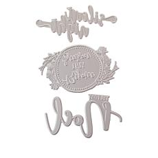 Crafter's Companion Gemini Holiday Blessing Foil Stamps