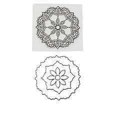 Crafter's Companion Gemini Mandala Karma Stamp and Die Set