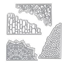 Crafter's Companion Gemini Textured Corner Die 4-pack