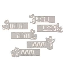 Crafter's Companion Gemini Wraparound Die Set - Christmas Characters