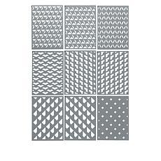 Crafter's Companion Geometric Kaleidoscope Layering Stencils