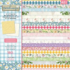 Crafter's Companion Nature's Garden Farmhouse Paper Pad