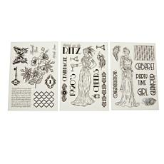 Crafter's Companion Roaring 20s Stamp Set