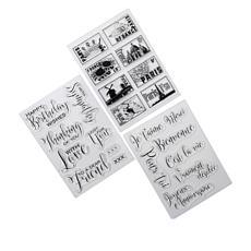 Crafter's Companion Sara Signature Parisian Stamps