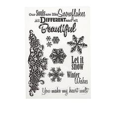 Crafter's Companion Sheena Splendid Snowflakes Stamp and Die Set