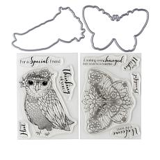 Crafter's Companion Woodland Animal Stamp and Die Set
