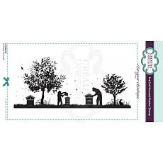 Creative Expressions Boutique Collection Honey Pre-Cut Rubber Stamp