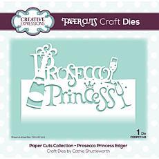 Creative Expressions Paper Cuts Collection - Prosecco Princess Edger