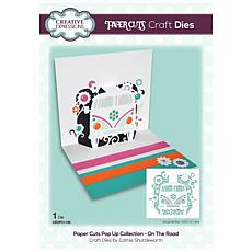 Creative Expressions Paper Cuts On The Road Craft Die