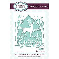 Creative Expressions Paper Cuts Scene - Winter Wonderland Craft Die