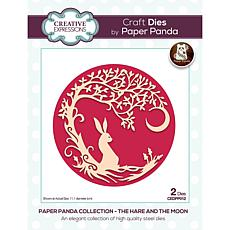 Creative Expressions Paper Panda The Hare And The Moon Craft Die