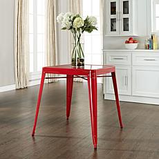 Crosley Amelia Metal Cafe Table - Red
