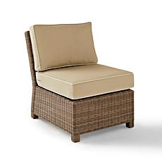 Crosley Bradenton Outdoor Wicker Sectional Chair - Sand