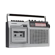 Crosley CT200 Cassette Player w/AM & FM Radio, Recorder & Bluetooth