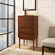 Crosley Furniture Everett Spirit Cabinet - Mahogany
