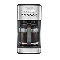 CRUX 14-Cup Programmable Coffee Maker