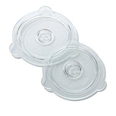 "Cuchina Safe 8"" and 9"" Vented Glass Lids"