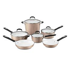 Cuisinart 59-10CH Elements 10-piece Non-Stick Cookware Set - Champagne