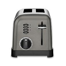 Cuisinart CPT-160BKS 2-Slice Metal Classic Toaster - Black/Stainless