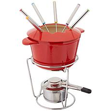 Cuisinart FP-115RS Chef's Classic 13-Piece Fondue Set