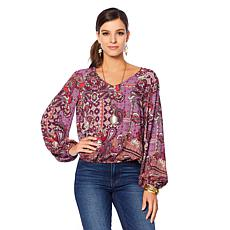 Curations Bishop Sleeve Drama Top