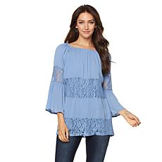 Curations Caravan Lace Inset Tunic
