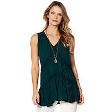 Curations Tiered Lightweight Tank - Bold