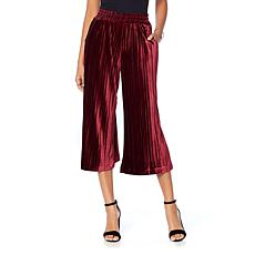 Curations Velvet Gaucho Pant