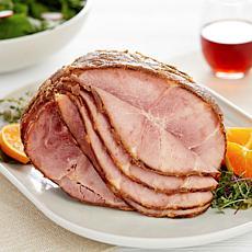Curtis Stone 7-8 lb. Bone-in Spiral Sliced Ham with Glaze - December