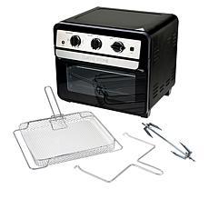 Curtis Stone Dura-Electric 1700-Watt 22L Air Fryer Oven w/Rotisserie