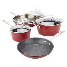 Curtis Stone Dura-Pan Nonstick 8-piece Cookware Set
