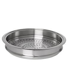 "Curtis Stone Stainless Steel 10"" Multipurpose Steamer Tray Insert"