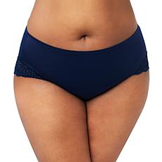 Curvy Couture Crochet Lace Hipster Panty