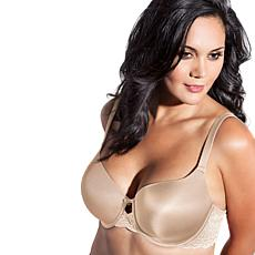Curvy Couture Lace Shine T-Shirt Bra