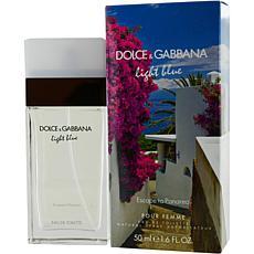 D & G Light Blue Escape To Panarea for Women 1.7 oz.