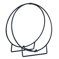 D & H Uniflame 36-inch Hoop Style Firewood Rack