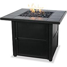 D & H Uniflame LP Steel Propane Fire Pit Table