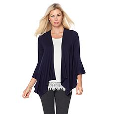 Daisy Fuentes Bell Sleeve Cardigan