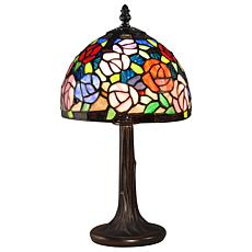 Dale Tiffany Carnation Accent Lamp