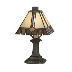 Dale Tiffany Castle Cut Mini Table Lamp