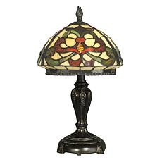 Dale Tiffany Fleur-de-Lis Table Lamp