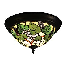Dale Tiffany Grape Cluster Flush-Mount  Light Fixture