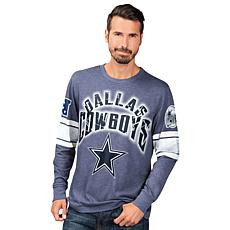 new product 34933 0459b Dallas Cowboys Power Move Long-Sleeve Graphic Tee