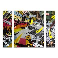 """Dan Monteavaro """"Take Away"""" Multi-Panel Art - 24"""" x 32"""""""