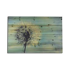 Dandelion 24x36 Print on Wood