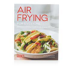 """DASH """"Air Frying For Everyone"""" Cookbook"""