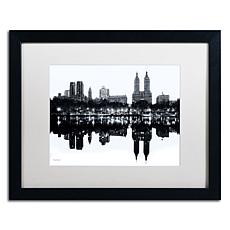 "David Ayash ""Central Park West II"" Framed Art"