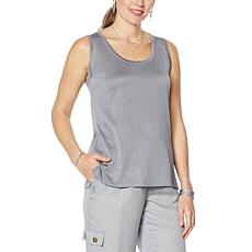 DAVID David Meister Sweater Knit Tank